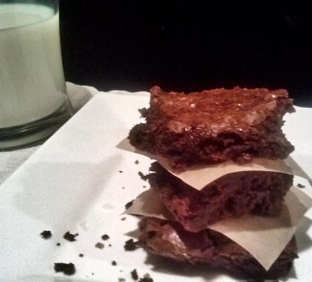 Dark Chocolate Chunk Brownies