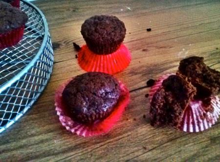Chocolate Mini-Muffins