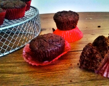 Chocolate Mini-Muffins