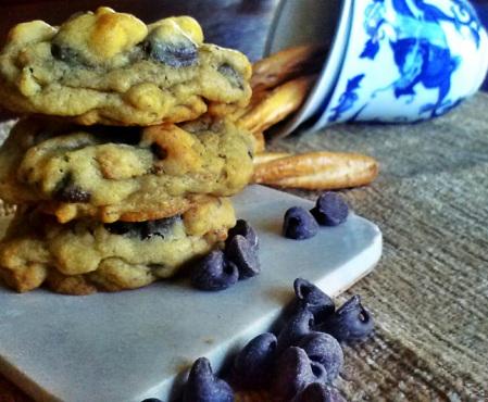 Pretzel cookies 4