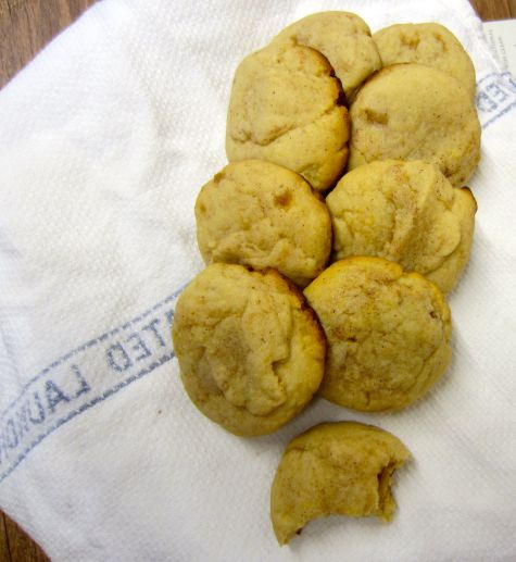Cinnamon sugar oil drop cookies
