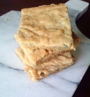 Chai Blondies