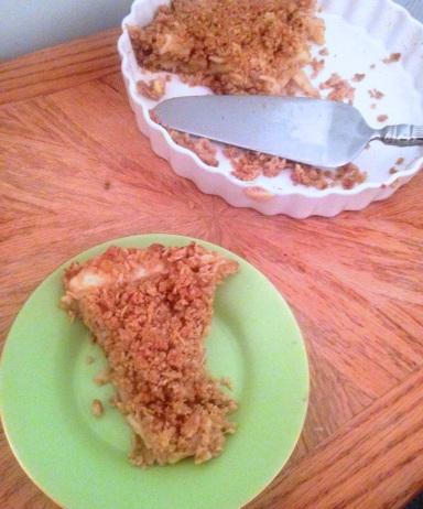 Oatmeal Cookie Apple Pie